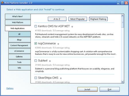 Web Platform Installer2