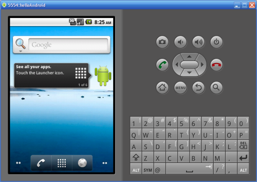 Android on AVD